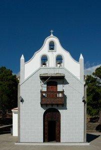 Virgen del Pino kleine Wallfahrtskirche oberhalb El Paso