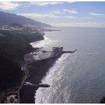 Der Hafen von Tazacorte, La Palma, Wandern,