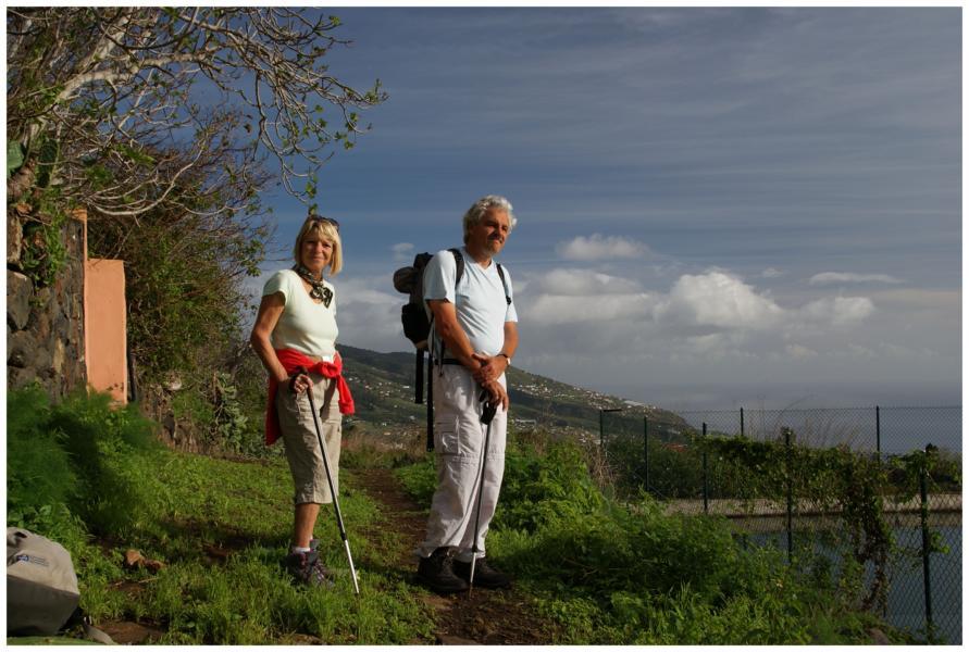 Auf dem Hafenweg PR-LP 1 La Palma,Wandern
