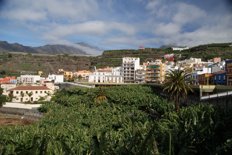 Villa de Tazacorte eine Gemeinde im Westen von La Palma