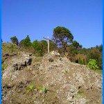 Am Wanderweg GR 130 ein Kreuz, La Palma, Wandern,