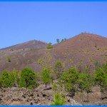 Aussicht auf den Vulkan San Martin, La Palma, Wandern