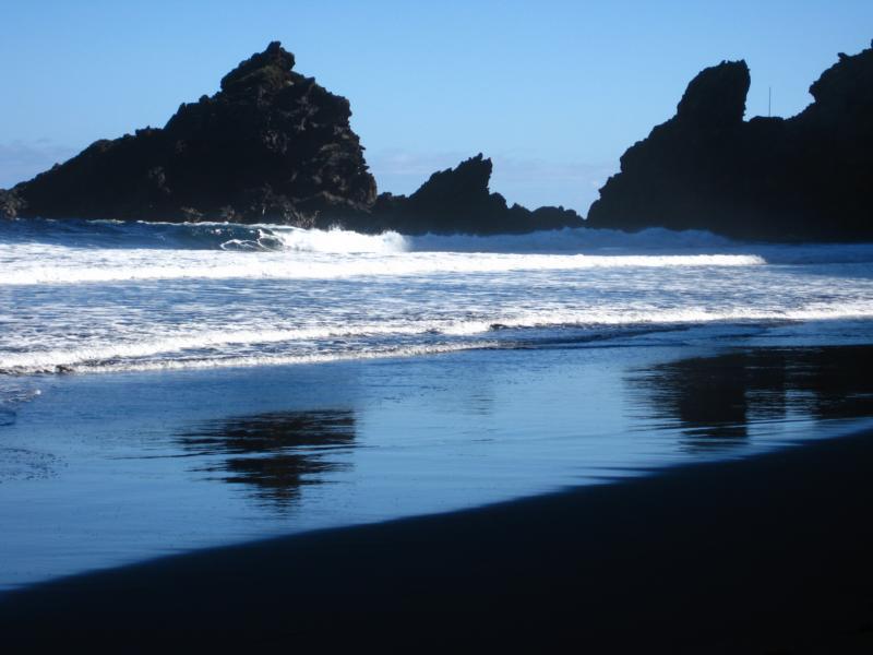 An der Playa Nogales-La Palma-Wandern-Lichtstimmungen