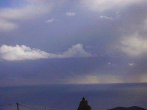 Ein Tiefdruckgebiet trifft auf La Palma,Wandern