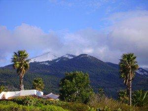 Birigoyo im Schnee,La Palma