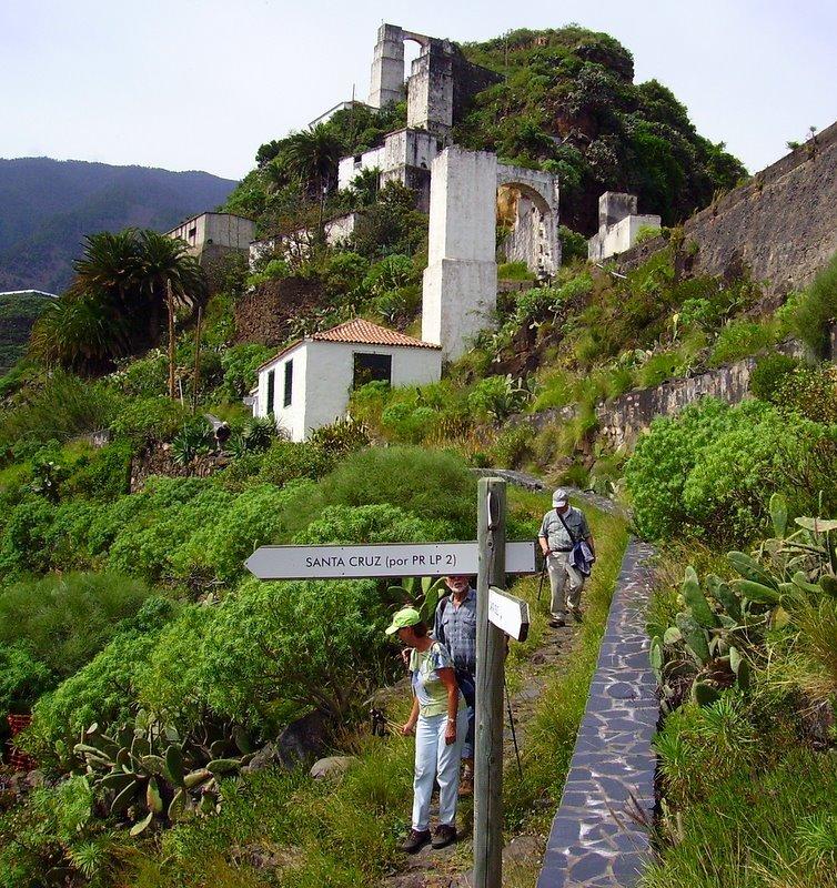 Mühlen von Bellido, Santa Cruz de La Palma, La Palma,Wandern,