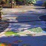 La-Palma-Wandern-Sehenswürdigkeiten-Plaza-Glorieta Mosaik