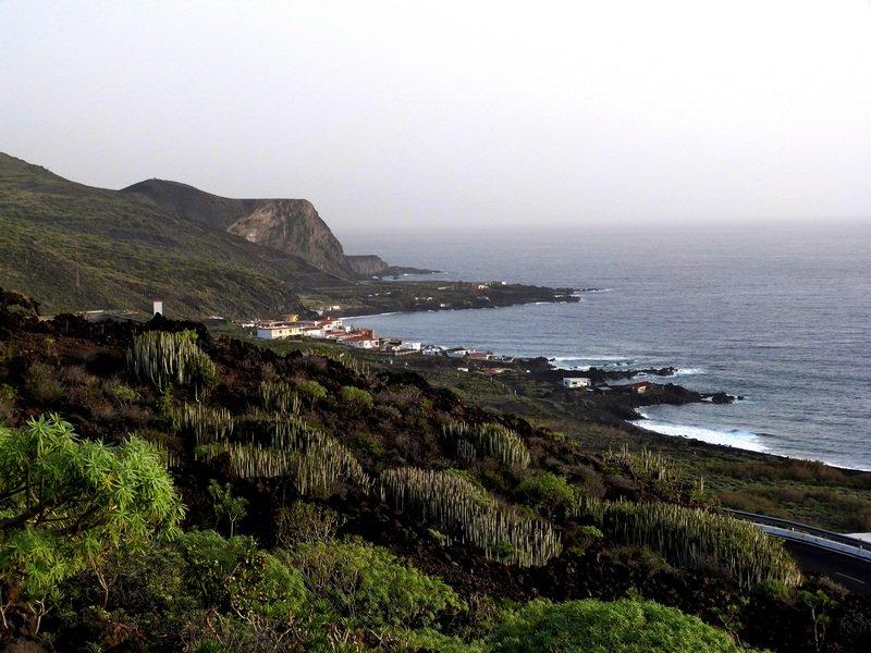 La Palma Wandern_Ausblick vom Wanderweg PR LP 16.1