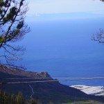Vom Startplatz Blick zum Roque Teneguia.