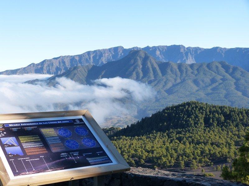 La Palma Wandern_Ausblick vom Mirador Llanos de Jable.