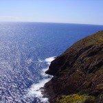 Blick vom Parkplatz der Playa Nogales, La Palma, Wandern