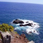 Auf dem Fußweg zur Playa Nogales, La Palma, Wandern,