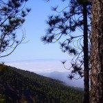 Der erste Blick Richtung El Hierro,La Palma Wandern,