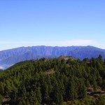 Blick zur Caldera Umrundung,La Palma,Wandern,