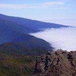 Blick nach Osten vom Gipfel des Nambroque, La Palma,Wandern,