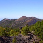 Blick Richtung Süden vom Gipfel des Nambroque, La Palma, Wandern,