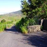 Abzeig rechts. La Palma, Wandern