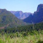 Blick Richtung Cumbrecita. La Palma, Wandern,