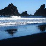 Am Strand Playa Nogales herrliches Lichtspiel | La Palma