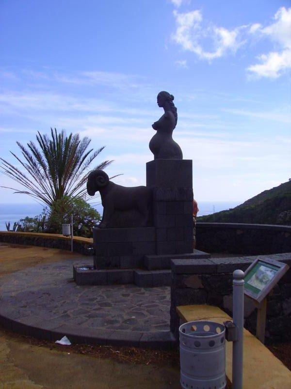 Aussichtspunkt (Mirador) Jardín de Las Hespérides,La Palma, Wandern,
