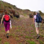 Pfad unterhalb Puntagorda, La Palma, Wandern,