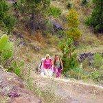 Kurz vor dem Barranco Izcagua, La Palma, Wandern,