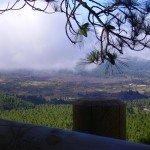 Ein erster schöner Aussichtspunkt nach 90 Minuten Wanderzeit,La Palma, Wandern,