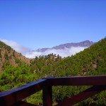 Rastplatz kurz vor der Cumbrecita, La Palma, Wandern,