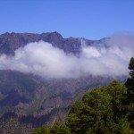 Ausblick von der Cumbrecita, La Palma, Wandern,