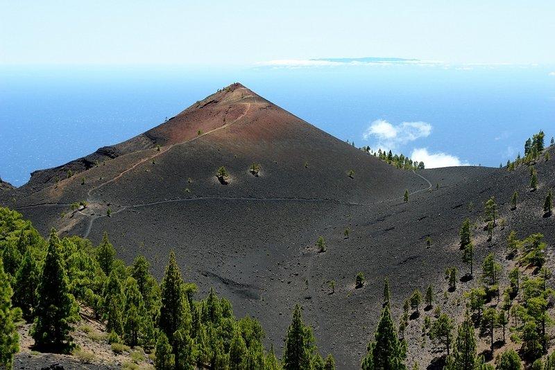 La Palma Wandertipps,auf der Vulkantour,Volcan Martin