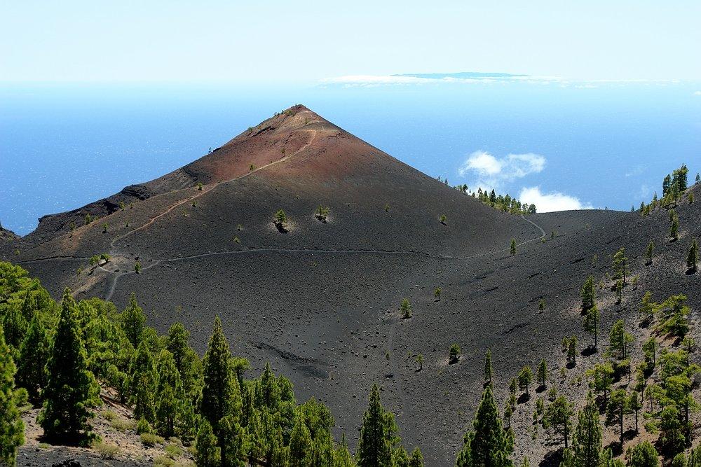 Vulkan Martin, La Palma, Wandern,