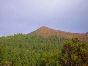 La Palma, Wandern, Vulkan Caldero