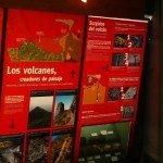 Ausstellungsraum,Besucherzentrum El Paso. La Palma,