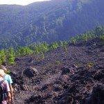 Lavafeld des Quemada, La Palma, Wandern,