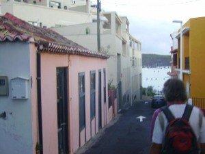 La Palma Wandern Startplatz der Wanderung