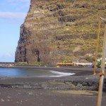 Der Strand von Tazacorte, La Palma, Wandern,