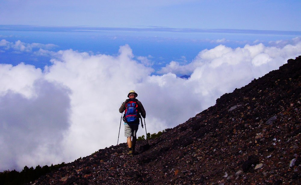 Wandern am Duraznero, La Palma, Wandern