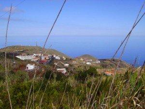 Blick auf Puntallana,La Palma, Wandern
