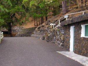 Rastplatz Fuente de Los Roques,La Palma,Wandern
