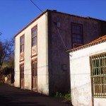 Altes Haus am Wanderweg in Puntagorda La Palma.Wandern,