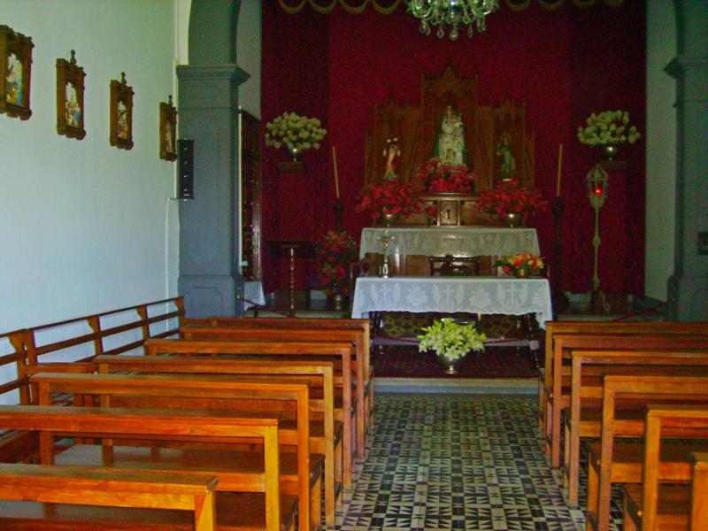 Ermita-de-la-Virgen-del-Pino, La-Palma, Wandern