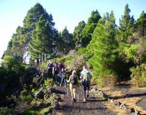 Auf dem Küstenwanderweg,La Palma, Wandern