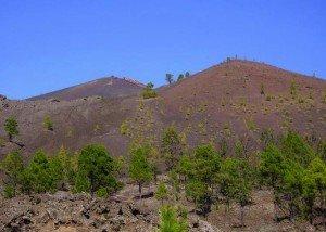Vulkan San Martin, La Palma, Wandern