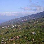 La Palma,Wandern, Aussicht nach Norden