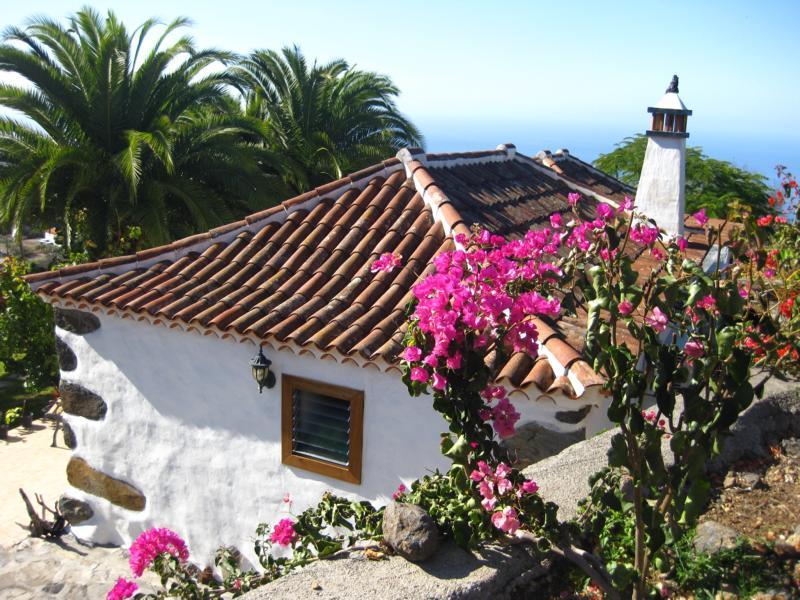 Kleines Haus auf dem Land-La Palma-Wandern