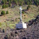 La-Palma-Wandern-Kreuz-Wegesrand