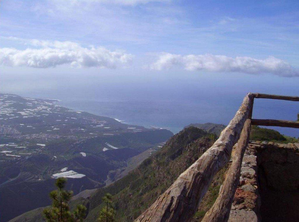 La Palma-Aussichtsplatz am Torre del Time