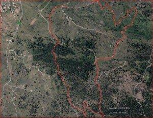 La Palma-Wanderung-Landkarte-Quelle Google-Earth