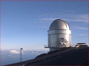 La Palma-Webcam-Teleskop Nordic Optical