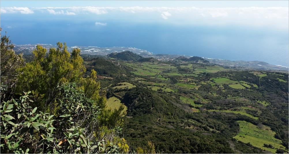 La Palma-Landschaft bei Mazo